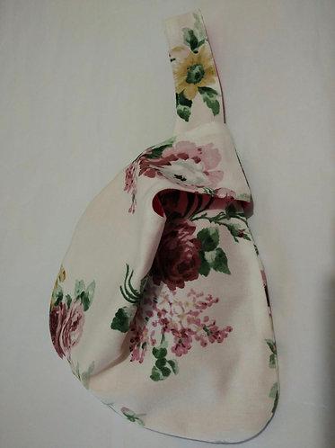 Japanese Floral Knot Bag