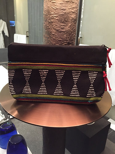 Beaded Double Compartment Purse