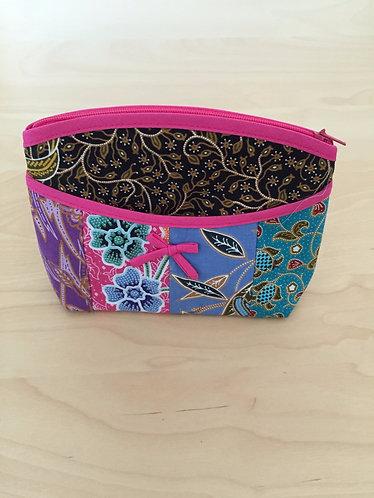 Batik Patchwork Pouch