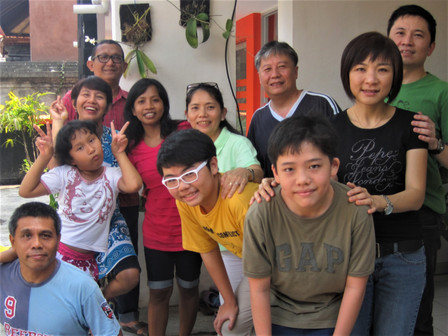 A home visit to our friends in Bali