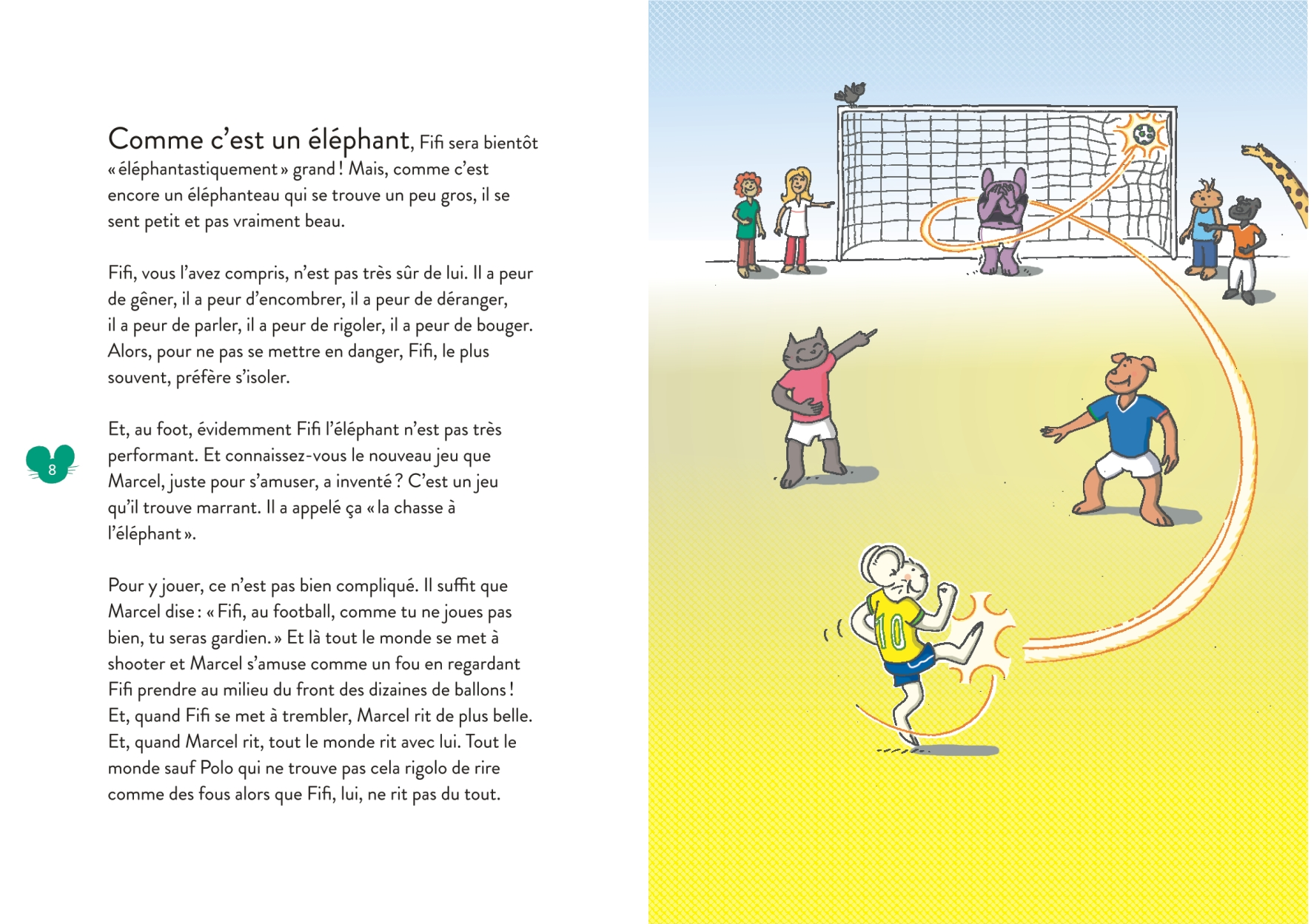 Polo le Lapin - Livre sur le harcèlement scolaire