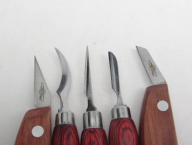 Chip carving knife from hacksaw blade by brian s lumberjocks