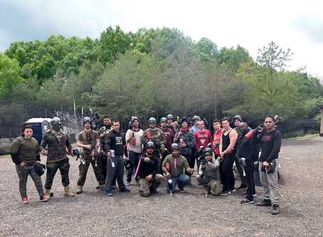 Company Paintball Outing