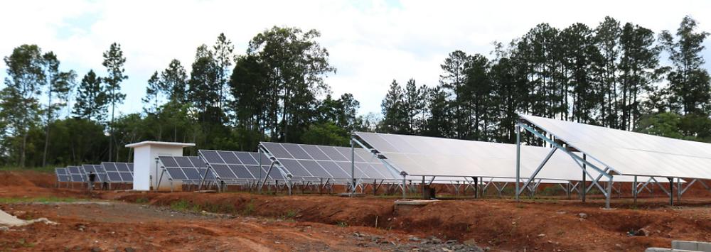 Usina Solar UFSM. (Fonte: UFSM).