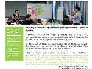 Chào mừng bạn đến với bản tin thứ ba của Liên minh bền vững mạng lưới đô thị các thành phố Châu Á (S