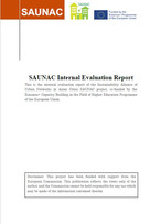 Final SAUNAC Internal Evaluation Report