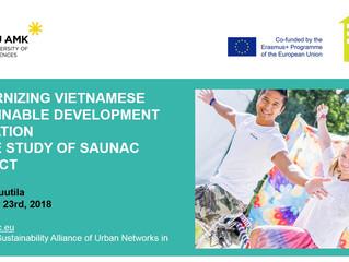 SAUNAC presented at SEMREGG 2018