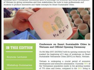 Newsletter 2: Follow the progress of SAUNAC