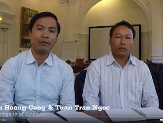 Video Reflections following the Study Visit to Manchester Met University (Vietnamese Versions)