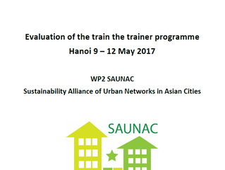 Evaluation of Train the Trainer week in Hanoi 9 – 12 May 2017