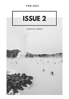 Red Minimalist Scenery Travel Magazine.p