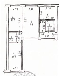 3-комнатная, Воткинское шоссе 92