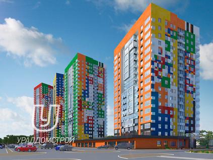 Новый комплекс в Устиновском районе на проспекте Калашникова
