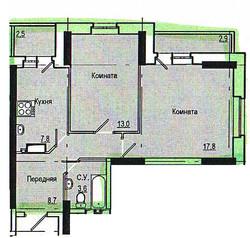 2-комнатная, Ильфата Закирова 5