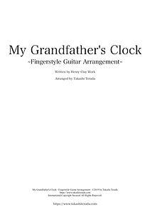 Cover-My Grandfater's Clock - Score.jpg