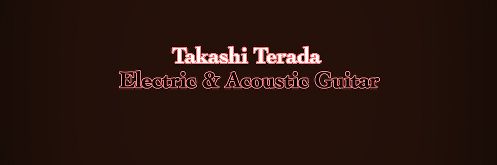 Takashi Terada - Guitar