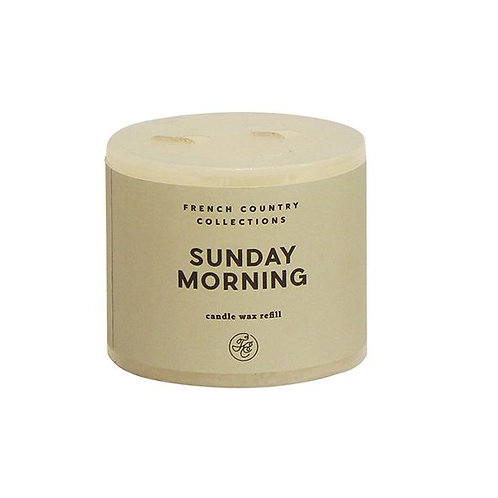 French Country Candle Refill Sunday Morning