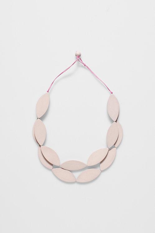 Elk Blush Leaf Necklace