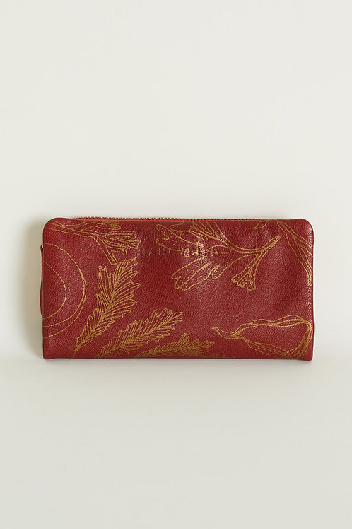 Nancybird Apollo Wallet Red Ochre