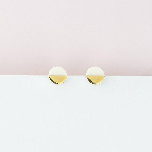 Erin Lightfoot Porcelain Stud Earrings