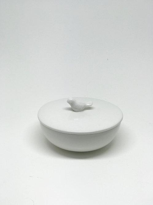 Ceramic Bird Trinket Dish