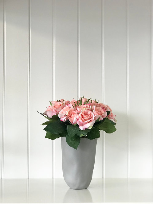 Salmon Pink Rose Bouquet