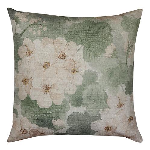 Geranium Cushion Green