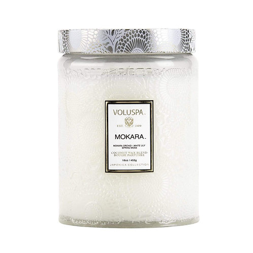 Voluspa Mokara 100hr Candle