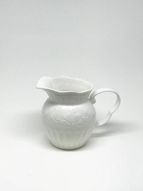 Medium White Jug
