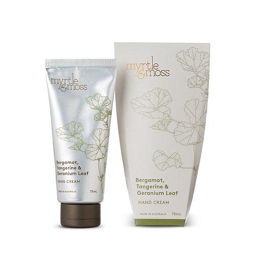 Myrtle & Moss Hand Cream Bergamot 75ml