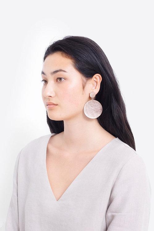 Elk Salla Earrings Rose Gold