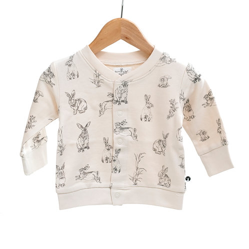 Bunny Fleece Cardigan
