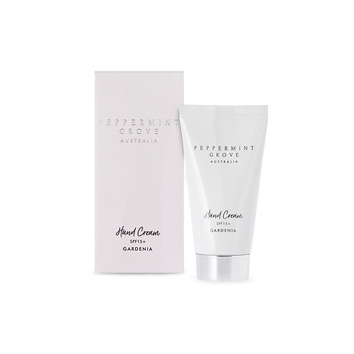 Peppermint Grove Gardenia Hand Body Cream Tube 75ml