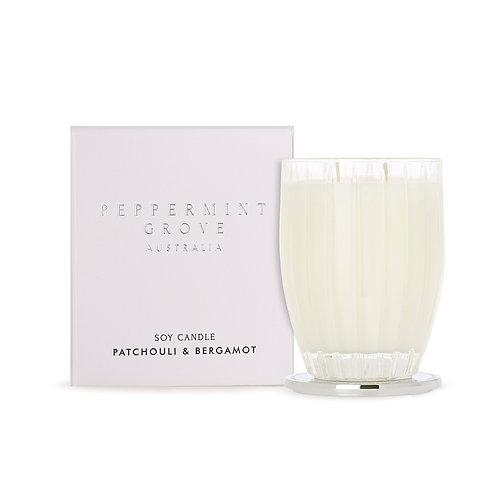 Peppermint Grove 350g Candle Patchouli & Bergamot
