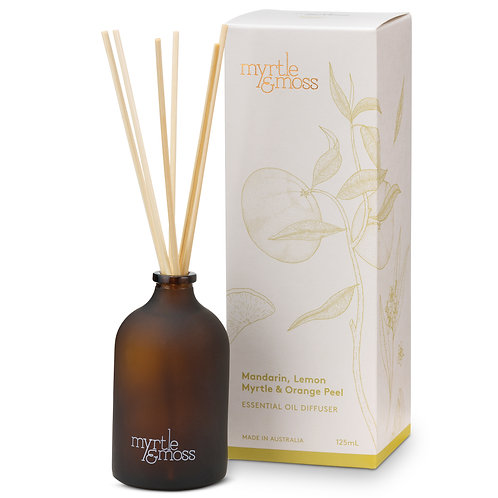Myrtle & Moss Essential Oil Diffuser Mandarin, Lemon Myrtle & Orange Peel