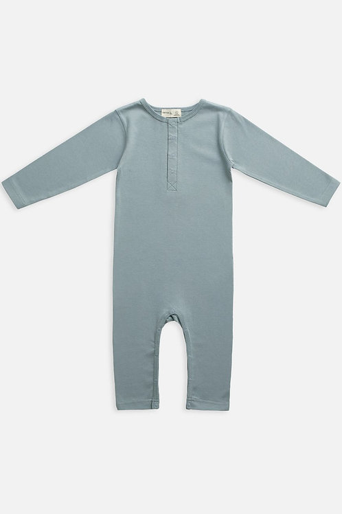 Slate Long Sleeve Onesie
