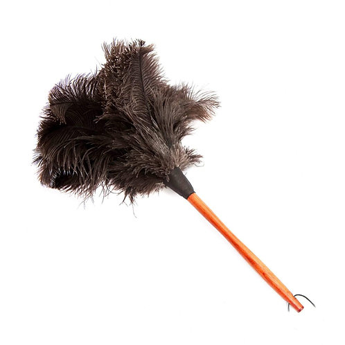 Brown Ostrich Feather Duster 50cm