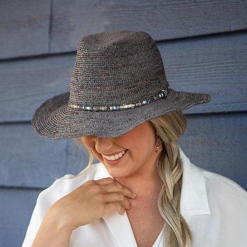 Madagascan Raffia Fedora Hat