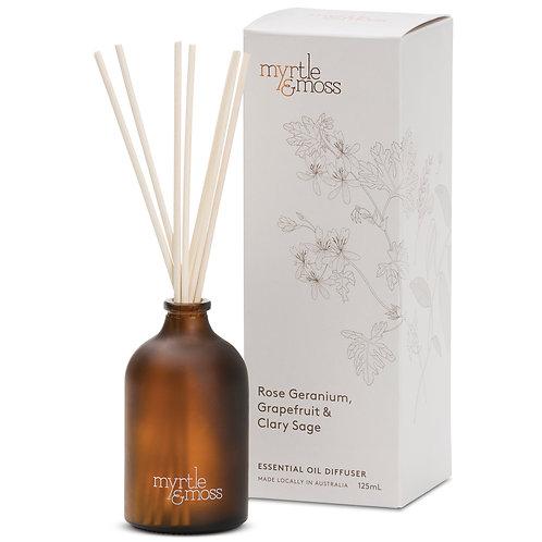 Myrtle & Moss Essential Oil Diffuser Rose Geranium