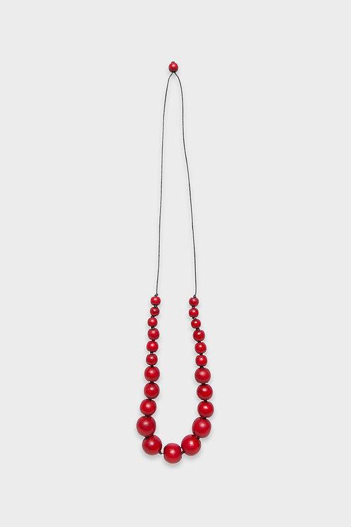 Elk Simple Bead Necklace