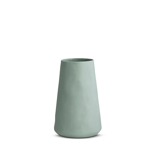 Tall Blue Tulip Vase