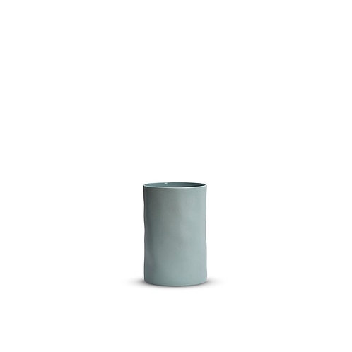 Small Blue Cloud Vase