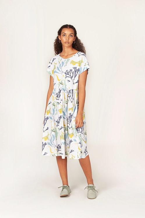 Nancybird Tathra Dress Seaweed