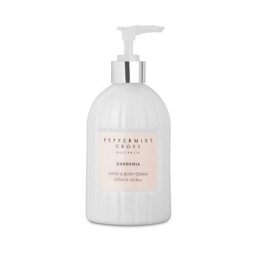 Peppermint Grove Gardenia Hand & Body Cream 500