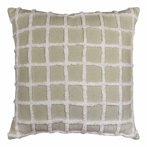 Grid Cushion Natural