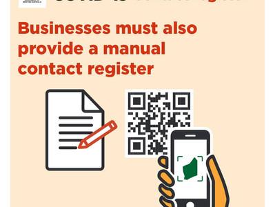Mandatory Contact Register at City of Nedlands facilities
