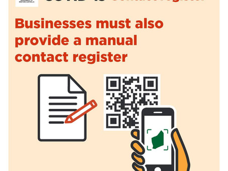 Mandatory Contact Register at City of Nedlands facilities