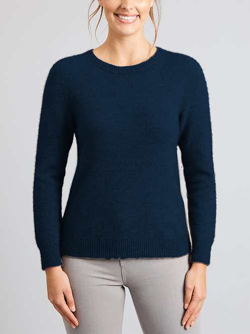 Merino Snug Duffy Sweater Navy
