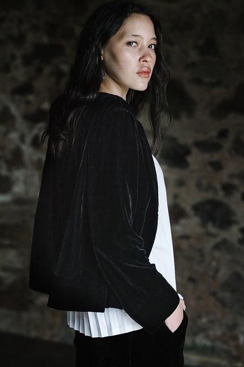Elk Luxe Velvet Jacket Black