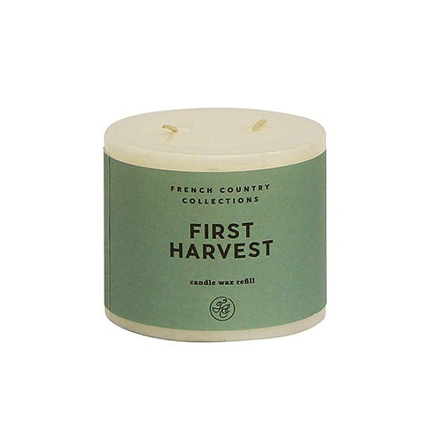 French Country Candle Refill First Harvest